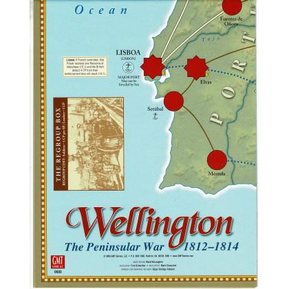 Wellington - Carte en papier (wargame de GMT en VO) 001