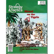 Strategy & Tactics N° 176 - Blood on the Tigris 1914-17 (magazine de wargames & jeux de simulation en VO)