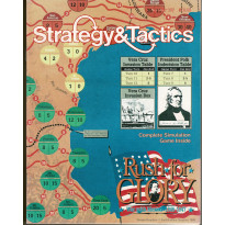 Strategy & Tactics N° 127 - Rush for Glory : War with Mexico 1846-1847 (magazine de wargames & jeux de simulation en VO) 001
