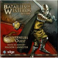 Batailles de Westeros - Gouverneurs de l'Ouest (extension Battelore en VF)