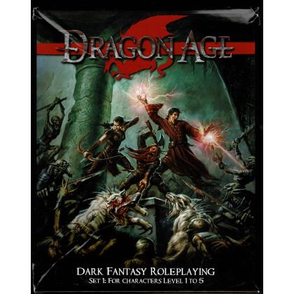 Dragon Age - Set 1 for Characters Level 1 to 5 (boîte de jdr en VO) 003