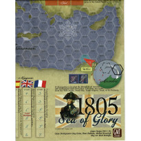 Sea of Glory 1805 - Carte en papier (wargame de GMT en VO)