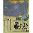 Sea of Glory 1805 - Carte en papier (wargame de GMT en VO) 001