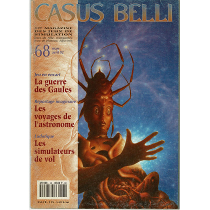 Casus Belli N° 68 (1er magazine des jeux de simulation) 010