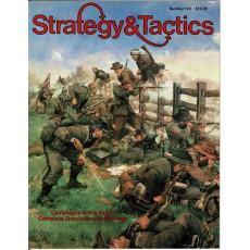 Strategy & Tactics N° 123 - Campaigns in the Shenandoah Valley (magazine de wargames & jeux de simulation en VO)