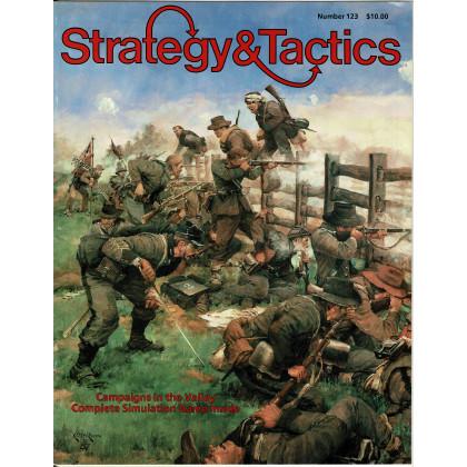 Strategy & Tactics N° 123 - Campaigns in the Shenandoah Valley (magazine de wargames & jeux de simulation en VO) 001