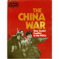 Strategy & Tactics N° 76 - The China War in the 1980s (magazine de wargames & jeux de simulation en VO) 001