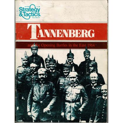 Strategy & Tactics N° 69 - Tannenberg 1914 (magazine de wargames & jeux de simulation en VO) 001