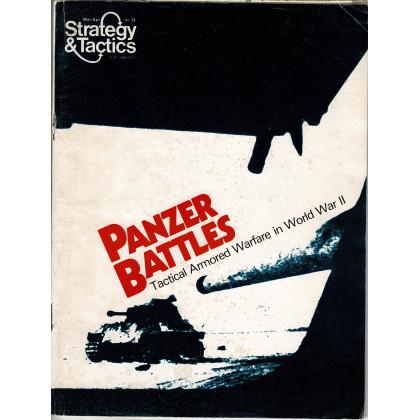 Strategy & Tactics N° 73 - Panzer Battles (magazine de wargames & jeux de simulation en VO) 001
