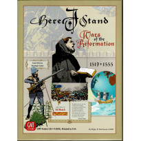 Here I Stand - Wars of the Reformation 1517-1555 (wargame de GMT en VO)