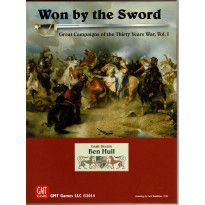 Won by the Sword - Great Campaigns of the Thirty Years War, Vol. 1 (wargame de GMT en VO) 001