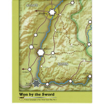 Won by the Sword - Carte en papier (wargame de GMT en VO)