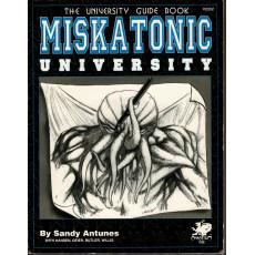 Miskatonic University - The University Guide Book (Rpg Call of Cthulhu en VO)