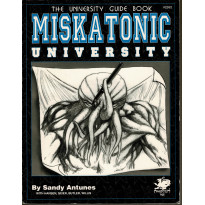 Miskatonic University - The University Guide Book (Rpg Call of Cthulhu en VO) 001