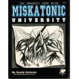 Miskatonic University - The University Guide Book (Rpg Call of Cthulhu en VO) 001