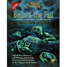 Before the Fall (Rpg Call of Cthulhu en VO)