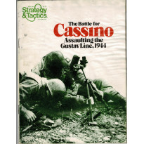 Strategy & Tactics N° 71 - The Battle for Cassino 1944 (magazine de wargames & jeux de simulation en VO)