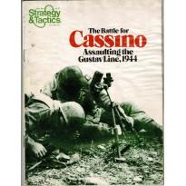 Strategy & Tactics N° 71 - The Battle for Cassino 1944 (magazine de wargames & jeux de simulation en VO)