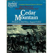 Strategy & Tactics N° 86 - Cedar Mountain 1862 (magazine de wargames & jeux de simulation en VO)