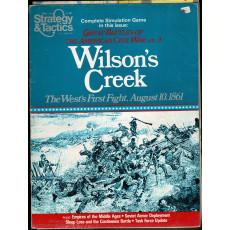 Strategy & Tactics N° 80 - Wilson's Creek Mountain 1861 (magazine de wargames & jeux de simulation en VO)