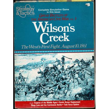 Strategy & Tactics N° 80 - Wilson's Creek Mountain 1861 (magazine de wargames & jeux de simulation en VO) 001