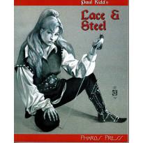 Lace & Steel - Livre de base et cartes (jdr de Pharos Press en VO) 001