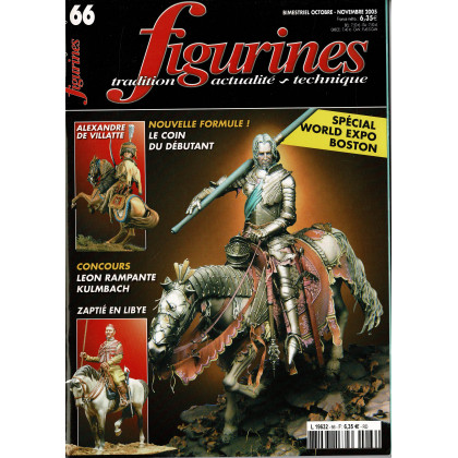 Figurines Magazine N° 66 (magazines de figurines de collection) 001