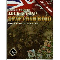 Swift and Bold V2 - Band of Heroes Expansion Pack (wargame Lock'N'Load en VO)
