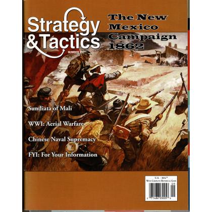 Strategy & Tactics N° 252 - The New Mexico Campaign 1862 (magazine de wargames en VO) 001