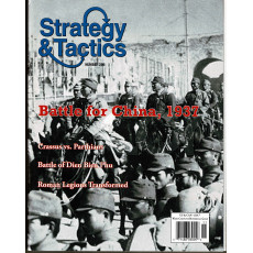 Strategy & Tactics N° 259 - Battle for China 1937 (magazine de wargames en VO)