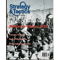 Strategy & Tactics N° 259 - Battle for China 1937 (magazine de wargames en VO)