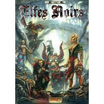 Elfes Noirs - Livret et aides de jeu (jeu de figurines fantastiques Demonworld en VF)
