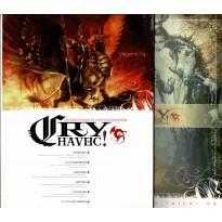Cry Havoc Volume 04 & Aides de jeu (magazines Jeux de figurines Rackham en VF)