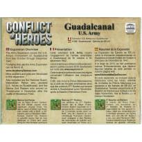 Conflict of Heroes - Guadalcanal U.S. Army (wargame Asyncron en VF/VO) 001
