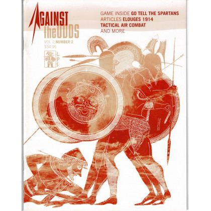 Against the Odds Vol. 2 Nr. 2 - Go tell the Spartans (A journal of history and simulation en VO) 002