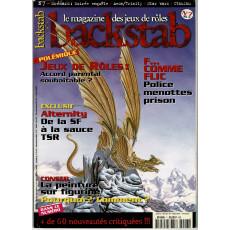 Backstab N° 7 (le magazine des jeux de rôles)