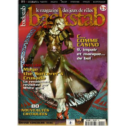 Backstab N° 9 (le magazine des jeux de rôles) 004