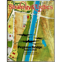 Strategy & Tactics N° 122 - Pegasus Bridge June 6, 1944 (magazine de wargames & jeux de simulation en VO)