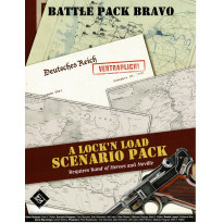 Battle Pack Bravo - Band of Heroes (wargame Lock'N'Load en VO)