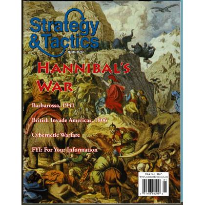 Strategy & Tactics N° 254 - Hannibal's War (magazine de wargames en VO) 001
