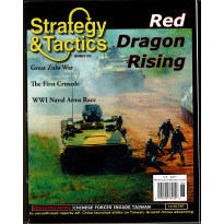 Strategy & Tactics N° 250 - Red Dragon Rising (magazine de wargames en VO) 001