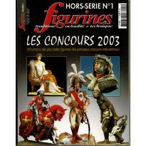 Figurines Magazine N° 1 Hors-Série Les Concours 2003 (magazine de figurines de collection) 001