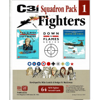 Down in Flames Series - Squadron Pack 1 Fighters (C3i Magazine - wargames GMT en VO) 001