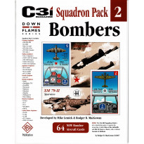 Down in Flames Series - Squadron Pack 2 Bombers (C3i Magazine - wargames GMT en VO) 001