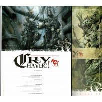 Cry Havoc Volume 03 & Aides de jeu (magazines Jeux de figurines Rackham en VF)