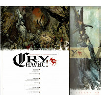 Cry Havoc  Volume 02 & Aides de jeu (magazines Jeux de figurines Rackham en VF) 001