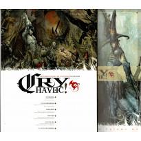 Cry Havoc  Volume 02 & Aides de jeu (magazines Jeux de figurines Rackham en VF) 001