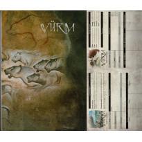 Würm - Ecran du MJ et bloc de feuilles de PJ (jdr des éditions Icare en VF) 001