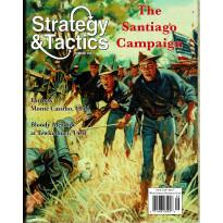 Strategy & Tactics N° 258 - The Santiago Campaign 1898 (magazine de wargames en VO)
