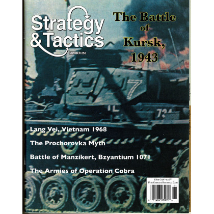 Strategy & Tactics N° 253 - The Battle of Kursk 1943 (magazine de wargames en VO) 001